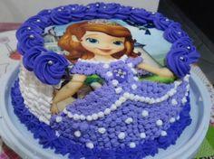 Cake Decorating Designs, Cake Decorating Techniques, Bolo Sofia, Sofia Birthday Cake, New Cake Design, Cake Pops How To Make, Sofia Party, Desserts, Gallery