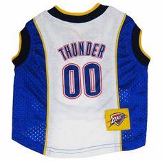 4aac48e890aa Oklahoma City Thunder Licensed NBA Dog Jersey Alabama