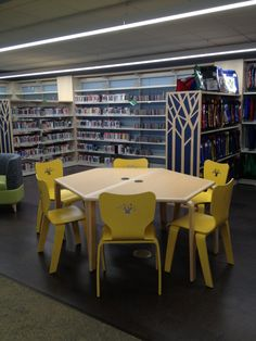 Kids Library, Library Ideas, Library Furniture, Furniture Design, Bethlehem, Media Center, Kid Spaces, Design Elements, Public