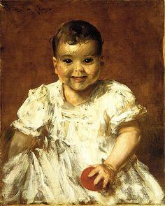 William Merritt Chase (American, 1849–1916). Roland, ca. 1902. The Metropolitan Museum of Art, New York. Bequest of Emma T. Gary, 1937 (37.20.1) #kids