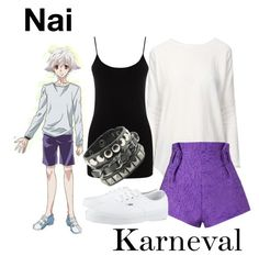 Casual cosplay of Nai (from Karneval anime series)-- character inspired outfit Easy Cosplay, Casual Cosplay, Cosplay Outfits, Anime Outfits, New Outfits, Casual Outfits, Female Outfits, Cute Outfits, Fashion Outfits