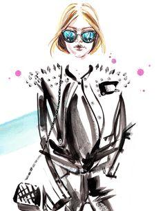 Gigi Hadid, NYFW street style, by Meagan Morrison