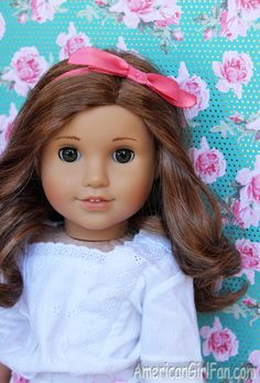 Doll Photography Fun: Use Scrapbook Paper As Backdrops!
