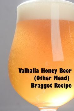 Try this mead-beer hybrid that has a great floral honey character, a dry finish, and a delicious, boozy character. Deceptively drinkable—be careful with this one! Brewing Recipes, Homebrew Recipes, Beer Recipes, Mead Beer, Mead Wine, Homemade Wine Recipes, Homemade Alcohol, Home Brewery, Home Brewing Beer