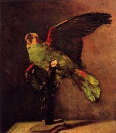 The Green Parrot, by Vincent Van Gogh