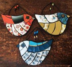 Home - Helen Clues Owl Mosaic, Mosaic Garden Art, Mosaic Tile Art, Mosaic Pots, Mosaic Birds, Mosaic Artwork, Mosaic Diy, Mosaic Crafts, Mosaic Glass