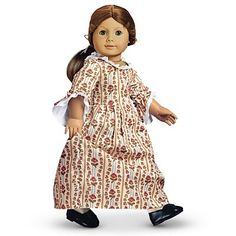 """American Girl Doll - Felicity 1774 - a gift to Jessica, and """"on loan"""" to me."""