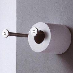 Boffi Minimal Toilettenpapierhalter, röhrenförmig Boffi, Minimal, Toilet Paper, Hang In There, Toilet Paper Rolls, Minimal Techno