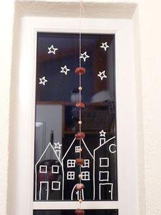 Meine grüne Wiese: Wieder mal Häuser im Fenster