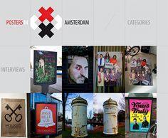 grid design: eine Art Collage, rasterähnlich visuelle Effekte und fettgedruckte Schriften für Webseiten, mit viele einzelnen Inhalten und schnell überladen wirken. Anordnung einer Galerie: klare struktur