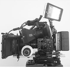 Check out this shot of @kevinotterness #sick Canon C300 setup! by film.rev