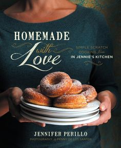 Beautiful new Homemade With Love cookbook by Jennifer Perillo to get more of us cooking from scratch.
