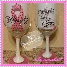 Items similar to Pink Ribbon Breast Cancer Wine Glass - Wine Glass- Custom- Pink and White- wine glass, Hand Painted - Personalized, Breast Cancer Survivor on Etsy Breast Cancer Survivor, Breast Cancer Awareness, Glass Ceramic, Ceramic Painting, White Wine, Night Light, Wine Glass, Mason Jars, Arts And Crafts