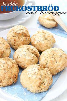 dagens-recept Raw Food Recipes, Baking Recipes, Norwegian Food, Swedish Recipes, Breakfast Snacks, Sweet And Salty, No Bake Desserts, Bread Baking, Diy Food