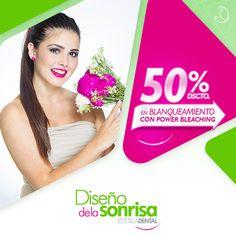 #DiseñoDeLaSonrisa - Luce radiante el día de tu boda con esta maravillosa técnica brasilera sin dolor, sin sensibilidad, #PowerBleaching te permite una sonrisa espectacular el día de tu boda, así que no te puedes perder esta maravillosa promoción 50% de descuento solo por el mes de agosto, para mayor información ingresa al link: http://portalnovia.pe/disenodelasonrisa
