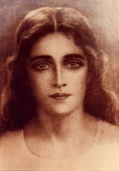 """Channeled"" image of Mary Magdalene"
