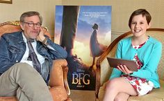 Watch 'The BFG' star Ruby Barnhill quiz Steven Spielberg about his movies | EW.com