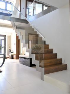 Contemporary Staircase Design, Pictures, Remodel, Decor and Ideas - page 27