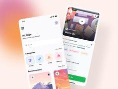App Ui Design, Mobile App Design, Branding Design, Application Design, Mobile Application, Directory Design, App Design Inspiration, Types Of Buttons, Job Opening