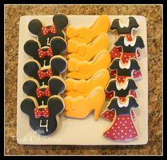 Fresh Cut Flours: A Minnie Mouse Birthday! Cookies
