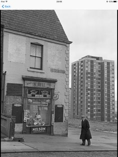 I am not certain but I think this is one of the tower blocks on Scotswood Road. Tower Block, Great North, Sense Of Place, Slums, West End, Brutalist, Newcastle, Old Photos, Street Photography