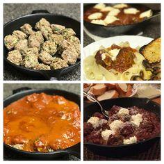 Meatballs with Ricotta and Marinara