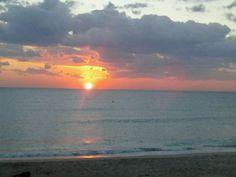 Ocean Front sunrise