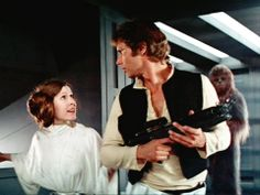 """""""You came in that thing? You're braver than I thought!"""" - Princess Leia"""