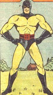 BlackHood.jpg I remember him for a Christmas comic as a child
