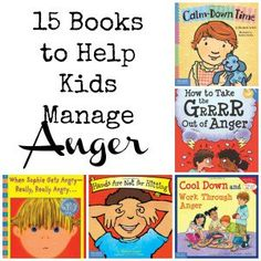 Great books for kids of all ages to learn how to manage anger. Parent's, teachers, and other caregiver's can all benefit from using these books with their children.
