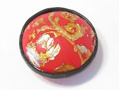 Chinese Brocade puff beads  #Polymer #Clay #Tutorials
