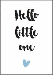 Kaart boy | Hello little one
