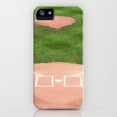 Baseball field /Baseballfeld iPhone & iPod Case by Karl-Heinz Lüpke - $35.00