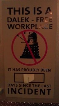 Dalek Free Work Place