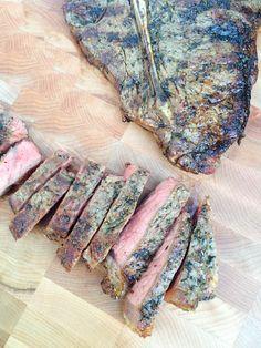 Herbes de Provence Rubbed Porterhouse Steaks Recipe - The Lemon Bowl Steak Recipes, Grilling Recipes, Cooking Recipes, Grilled Porterhouse Steak, Korean Bbq Recipe, Cooking The Perfect Steak, Steak Rubs, Omaha Steaks, Lemon Bowl