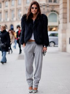 christine centenera & how to glam up sweat pants like a boss