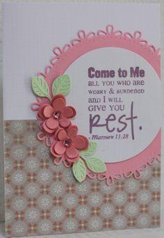 Gemaakt door Joke # kaart met bijbeltekst, Vervestamps