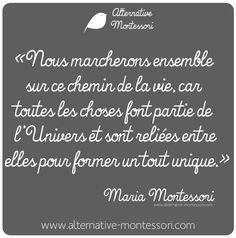 www.alternative-montessori.com www.facebook.com/alternativemontessori Citation Maria Montessori