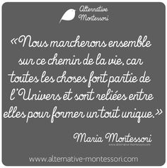 www.alternative-montessori.com www.facebook.com/alternativemontessori Citation Maria Montessori
