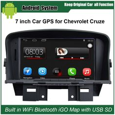 Upgraded Original Car Radio Player Suit to Chevrolet Cruze Car Video Player Built in WiFi GPS Navigation Bluetooth