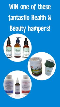 Win one of these fantastic health and beauty hampers from some of my favourite local companies in South Africa!   #win #competition #southafrica #health #beauty