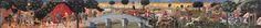 Giovanni di Francesco La Caccia (rural life on the left) Monuments, Renaissance, Giovanni Bellini, Fra Angelico, Louvre, 15th Century, African Art, Les Oeuvres, Restoration