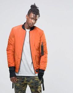 Image 2 ofSixth June Bomber Jacket With Detachable Straps