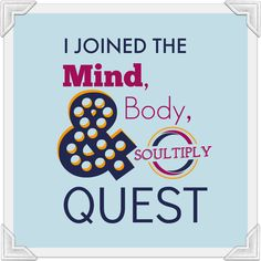 Pin this badge if you deserve a healthy, positive, love-filled weight loss plan! You and your body deserve it...follow the Mind, Body & Soultiply Quest on Soultiply.com