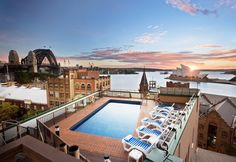 Sydney, Old Sydney Holiday Inn with amazing views over the Opera House