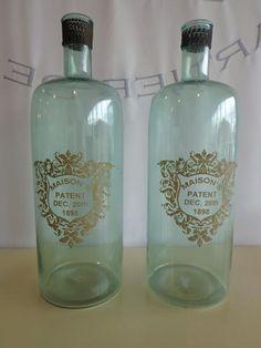 Decorative Bottles Decorative Bottles, Vodka Bottle, Jars, Classic, Home Decor, Derby, Decoration Home, Pots, Room Decor