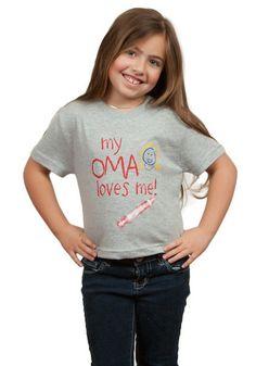 German T Shirt Children's Oma Gift – GermanGiftOutlet.com