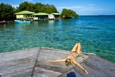 Red Frog Bungalows Surfing And Fishing Resort | Red Frog Bungalows Bocas Del Toro Panama