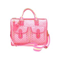 Pre-Owned Louis Vuitton Sac Mary Kate 48H Pink Monogram Mini Line... ($799) ❤ liked on Polyvore