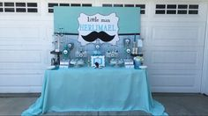 Mustache Baby Shower Baby Shower Party Ideas | Photo 6 of 10